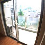2014年完成・三鷹駅徒歩8分のオートロック・エレベーター付1K賃貸マンション(バルコニーの写真)