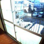 三鷹駅徒歩15分、武蔵野市西久保3丁目のバストイレ別賃貸アパート(眺望の写真)