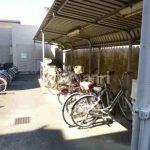 武蔵野市中町3丁目の3LDK賃貸マンション(駐輪場の写真)