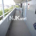 三鷹市上連雀8丁目のオートロック・EV付2LDK賃貸マンション(共用部分の写真)