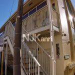 「フローラルコートⅠ」武蔵野市八幡町1丁目の賃貸1Kアパート(外観)