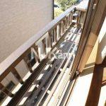 三鷹駅徒歩14分、武蔵野市西久保2丁目のバストイレ独立・ロフト付賃貸アパート(バルコニーの写真)