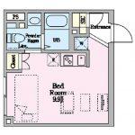 2021年8月完成の新築賃貸マンション、武蔵野市中町2丁目・三鷹駅徒歩7分「アーバンキューブ三鷹」(間取)