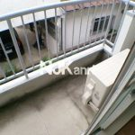 三鷹駅徒歩17分、武蔵野市緑町1丁目の2DK賃貸コーポ・2階の角部屋(バルコニーの写真)
