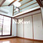 関前3丁目、BT別ロフト付き1K賃貸アパート(居室・リビングの写真)