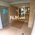 武蔵野市西久保1丁目の賃貸1Kマンション・ペット相談(エントランスの写真)