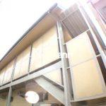 三鷹駅徒歩11分,三鷹市上連雀3丁目のバストイレ別の1Kアパート(外観写真)
