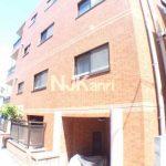 三鷹駅徒歩3分、武蔵野市中町1丁目の2DK賃貸マンション(外観写真)