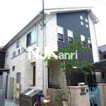 三鷹駅徒歩5分のオートロック独立洗面台付1K賃貸アパート(外観写真)