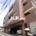 2014年完成、三鷹市野崎2丁目のオートロック・エレベーター付2LDK賃貸マンション(外観)