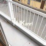 三鷹駅徒歩15分、三鷹市上連雀4丁目の2DK賃貸コーポ(バルコニーの写真)