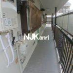 三鷹駅徒歩15分、武蔵野市西久保3丁目のバストイレ別賃貸アパート(共用部分の写真)