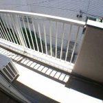 三鷹駅徒歩6分、三鷹市下連雀3丁目の3DK分譲賃貸マンション・最上階角部屋(バルコニーの写真)