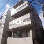三鷹駅徒歩10分,2014年完成の鉄筋コンクリート造1LDK賃貸マンション(外観写真)