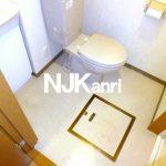 【カサアリヴィオ】三鷹市上連雀2丁目のバストイレ独立・ガスコンロ付1DK賃貸(トイレの写真)