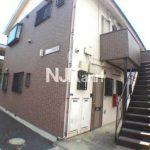 三鷹駅徒歩12分、三鷹市上連雀5丁目のバストイレ別賃貸1Kアパート(外観写真)