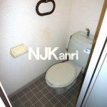 三鷹市上連雀4丁目の2DK賃貸コーポ・最上階・南向き(トイレの写真)