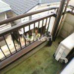 【コーポノブ】武蔵野市緑町1丁目の賃貸マンション(バルコニーの写真)