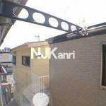 三鷹駅徒歩14分、武蔵野市西久保2丁目のバストイレ独立・ロフト付賃貸アパート(眺望の写真)