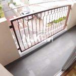 【グリーンヒルハイツ】三鷹駅徒歩9分、武蔵野市西久保1丁目の2DK賃貸マンション最上階の角部屋(バルコニーの写真)