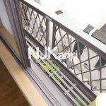 三鷹市上連雀2丁目のバストイレ別賃貸1Kコーポ(バルコニーの写真)