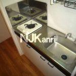 武蔵野市西久保1丁目の賃貸1Kマンション・ペット相談(キッチンの写真)