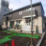 2019年完成!! 三鷹駅北口、武蔵野市八幡町3丁目の駐車場付2LDK賃貸アパート(外観写真)