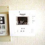 【レジデンスモーセ】三鷹駅徒歩20分の2DK賃貸アパート(モニターホンの写真)