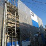 2020年完成、三鷹駅徒歩15分、武蔵野市西久保3丁目の2LDK賃貸マンション2階の角部屋(外観)