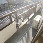 三鷹市下連雀7丁目の室内リノベーション済み2DKマンション【コーポ紫苑】(バルコニーの写真)
