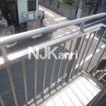 武蔵野市西久保1丁目の賃貸コーポ(バルコニーの写真)