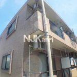 三鷹駅徒歩14分、鉄筋コンクリート造2階建のバストイレ別賃貸1Kマンション(外観)