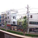 三鷹駅徒歩8分、武蔵野市中町2丁目の3DK賃貸マンション・最上階プラス屋上(眺望の写真)
