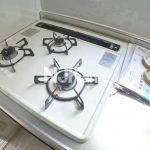 武蔵野市西久保2丁目の室内リノベーション2DK賃貸マンション【アルカディア武蔵野】(キッチンの写真)