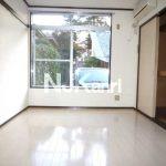三鷹駅徒歩7分、武蔵野市西久保1丁目のBT別賃貸1K・最上階角部屋(浴室の写真)