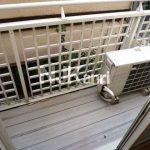 三鷹駅徒歩9分、武蔵野市中町2丁目オートロック付き賃貸1Kマンション(バルコニーの写真)