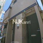 三鷹駅北口、バストイレ洗面独立でシステムキッチン付の賃貸1Kコーポ(外観)