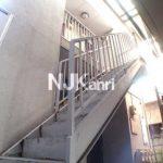三鷹駅徒歩12分、三鷹市下連雀4丁目の賃貸1Kアパート(外観)