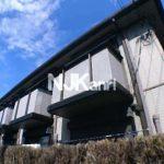 三鷹駅徒歩10分、三鷹市上連雀1丁目のバストイレ別ALSOK導入済みアパート(外観写真)