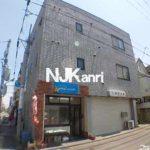 三鷹駅徒歩20分、武蔵野市緑町1丁目のオートロック付2DK賃貸マンション(外観写真)
