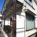 三鷹駅徒歩15分、武蔵野市西久保3丁目のバストイレ別賃貸アパート(外観写真)