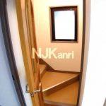 三鷹駅徒歩8分、武蔵野市中町2丁目の3DK賃貸マンション・最上階プラス屋上(居室・リビングの写真)