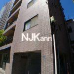 三鷹駅徒歩4分、武蔵野市中町2丁目のオートロック付き1LDK賃貸マンション(外観写真)