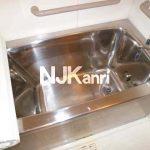 三鷹駅徒歩15分の3LDK賃貸マンション(浴室の写真)