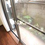 三鷹駅南口7分、三鷹市下連雀3丁目の全室洋室2DK賃貸マンション【カーサレシェンテ】(バルコニーの写真)