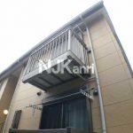 三鷹市大沢2丁目の2008年完成の1LDK賃貸コーポ・最上階角部屋(外観)