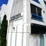 三鷹駅徒歩7分、武蔵野市中町1丁目のコンクリート打ち放しデザイナーズマンション(外観写真)