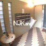 武蔵野市西久保3丁目の賃貸マンション【ガーデンセントポーリア】(エントランスの写真)