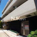 三鷹駅徒歩6分、武蔵野市中町2丁目のオートロック付賃貸1Kマンション(外観)