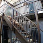 三鷹駅徒歩10分、武蔵野市西久保1丁目のバストイレ別賃貸1Kアパート(外観)